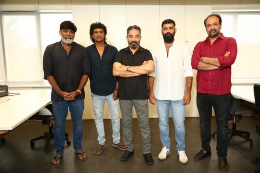 Kamal Haasan's Vikram Shoot Started Today Photos