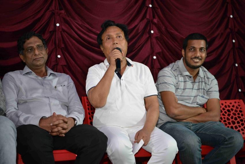 Kshamisi Nimma Khaatheyalli Hanavila Film Press Meet Photos