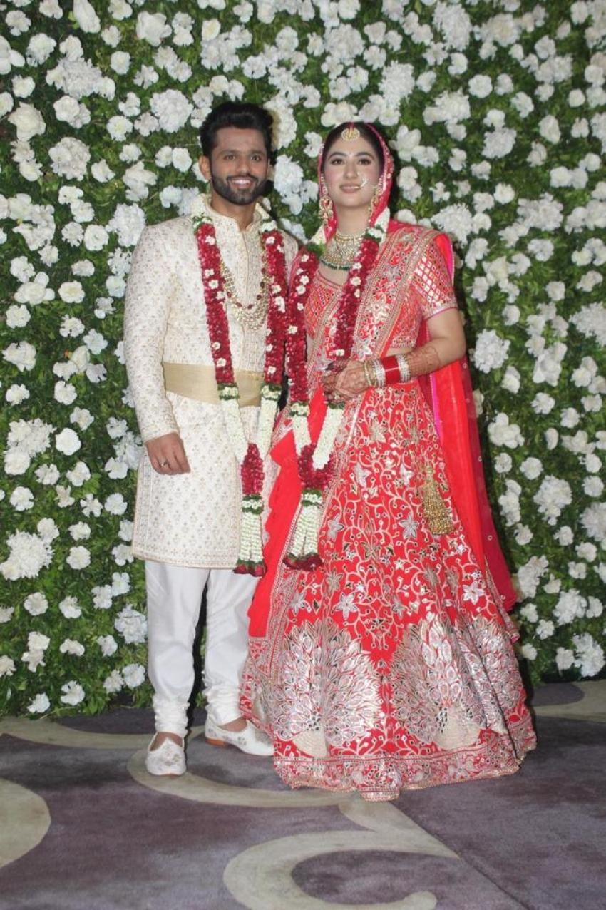 Rahul Vaidya And Disha Paramar Wedding Photos