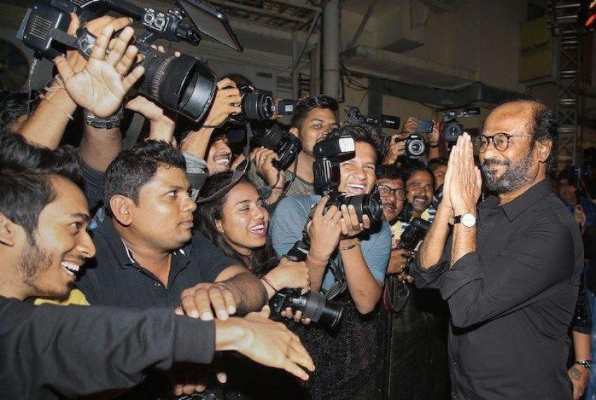 அமெரிக்காவிலும் அண்ணாத்த.. ஆஃப் ஸ்க்ரீனிலும் பாட்ஷா.. வைரலாகும் ரஜினிகாந்த் புகைப்படங்கள்!