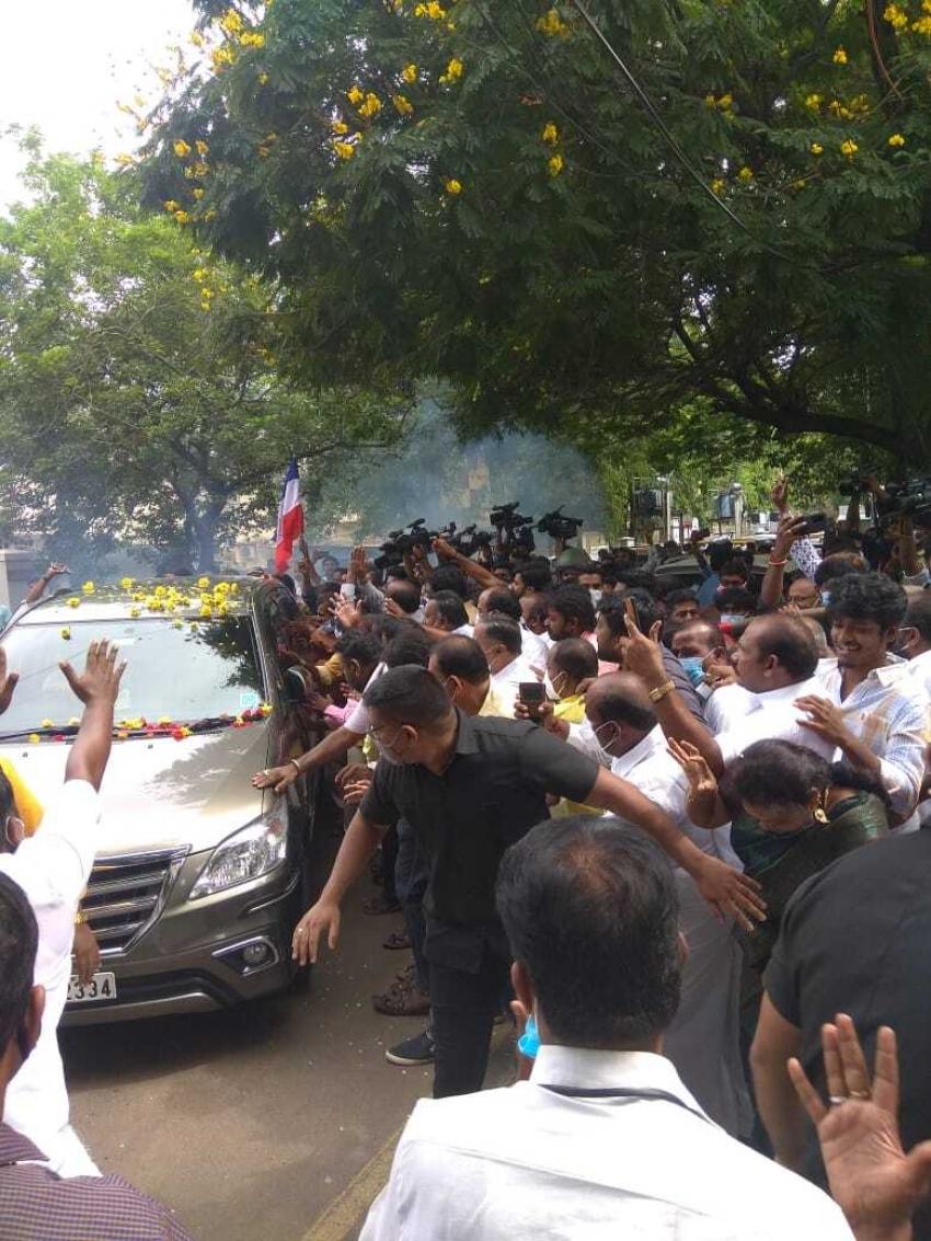 Rajinikanth Renames RRM to Fans Welfare Association Photos