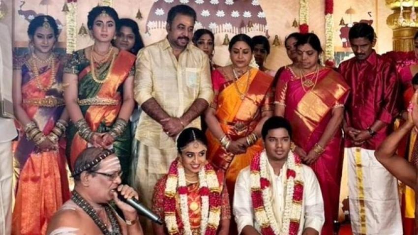 Saranya Ponvannan Daughter Wedding Photos