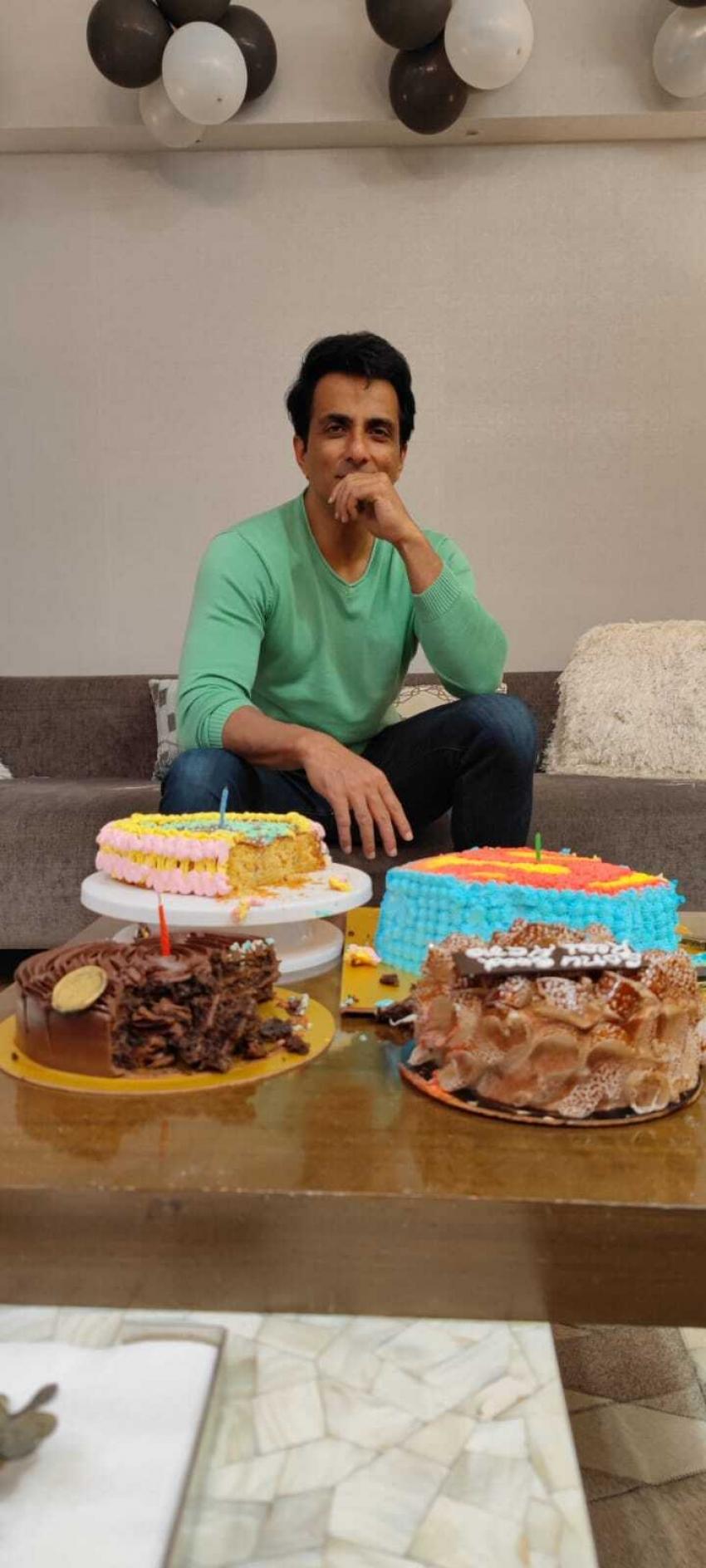 Sonu Sood Birthday Celebrations Photos
