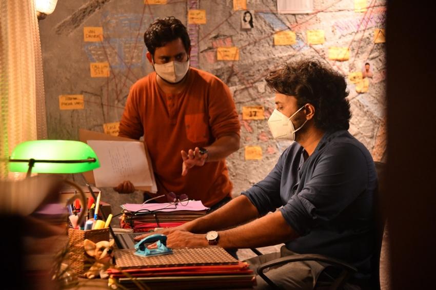 Timmarusu Movie Working Stills Photos