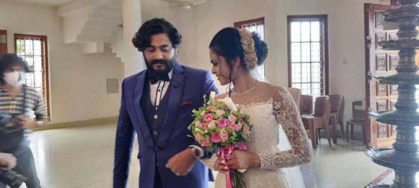 Actor Antony Varghese & Anisha Paulose Wedding Photos