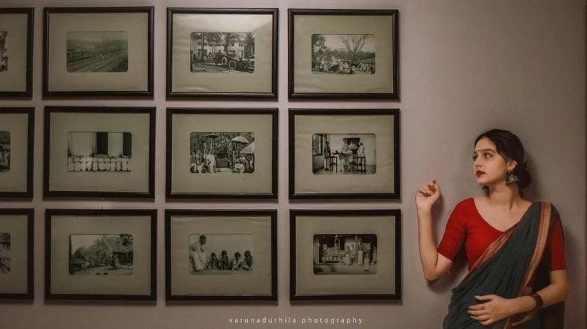 സാരിയില് പുത്തന് ചിത്രങ്ങളുമായി അനശ്വര, ലേറ്റസ്റ്റ് ഫോട്ടോസ് കാണാം
