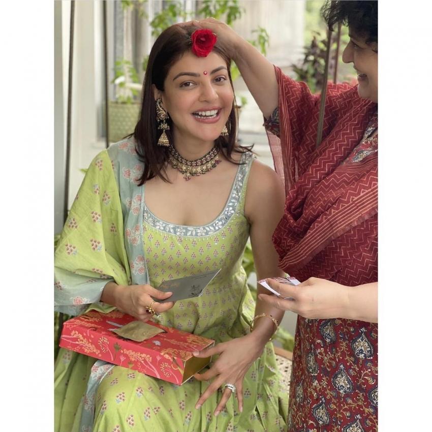 വിവാഹശേഷം സന്തോഷവതിയായി കാജൽ അഗർവാൾ, മനോഹരമായ ഫോട്ടോസ് വൈറലാവുന്നു