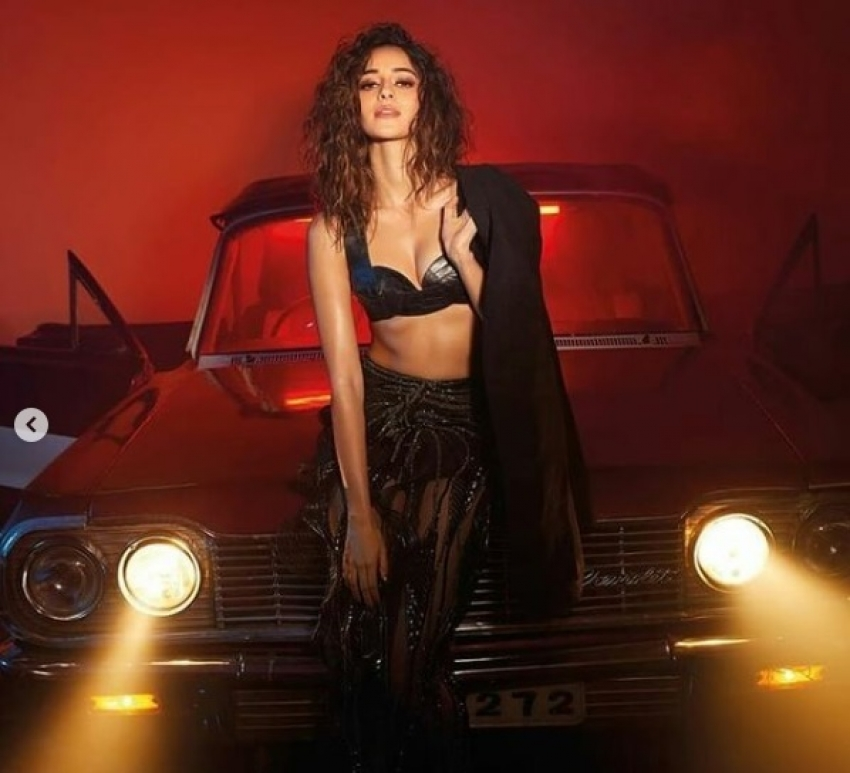 Ananya Panday Sizzles In Her Latest Photoshoot Photos