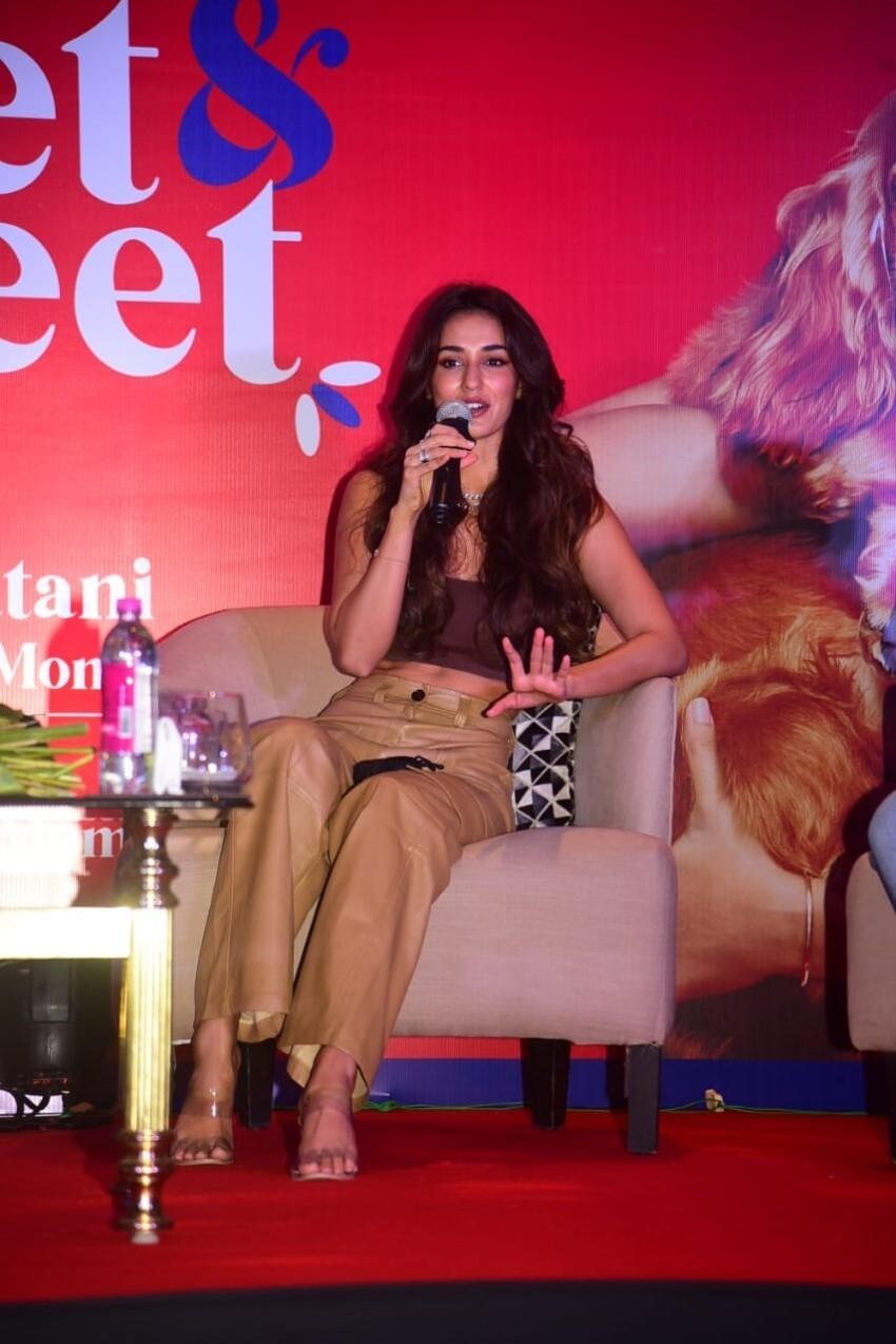 Disha Patani at The Drools Meet & Greet event Photos