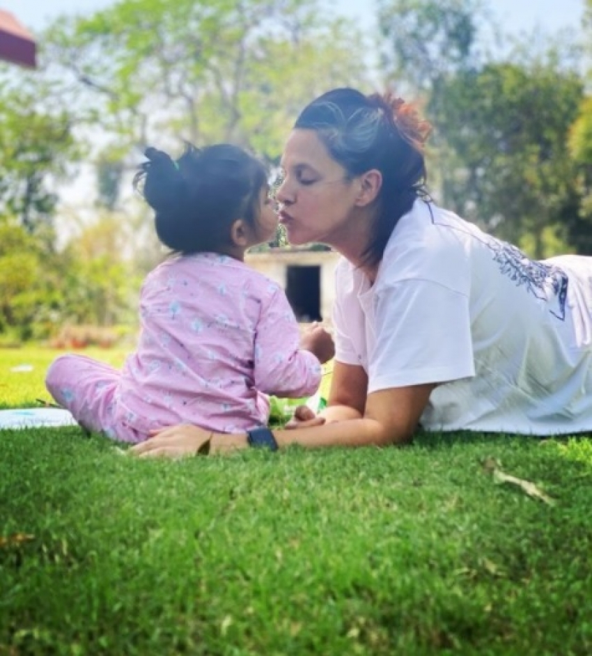 Happy Birthday Neha Dhupia: Her Love-Soaked Pictures With Daughter Mehr Are Not To Be Missed! Photos