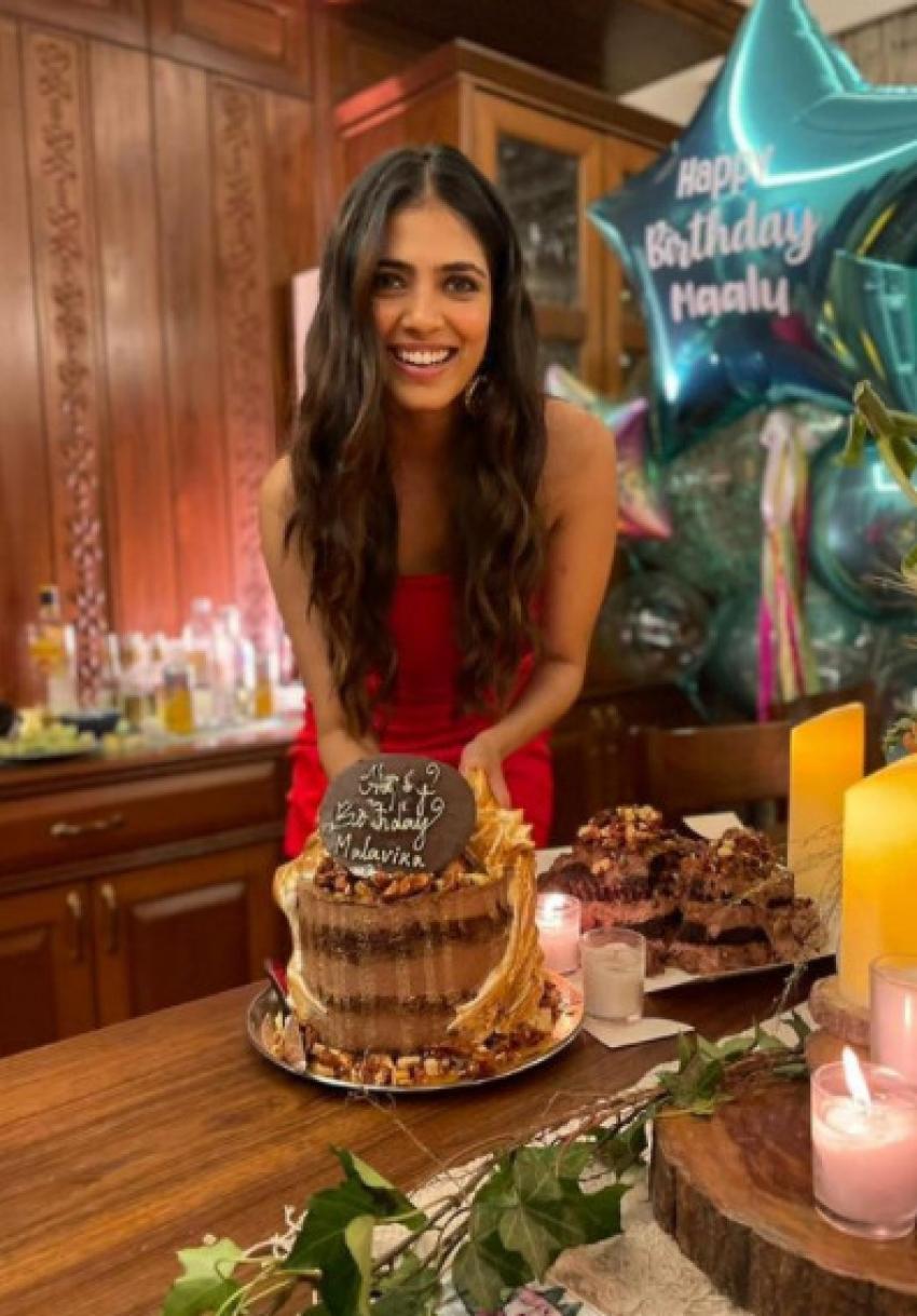 Inside Pics From Malavika Mohanan's Intimate Birthday Bash! Photos