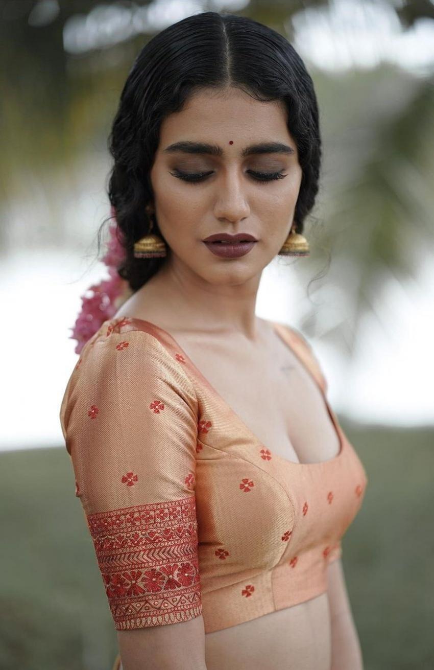 Priya Prakash Varrier అదిరే ఎద అందాలు.. మునుపెన్నడూ లేని విధంగా పరువాల ఆరబోత!