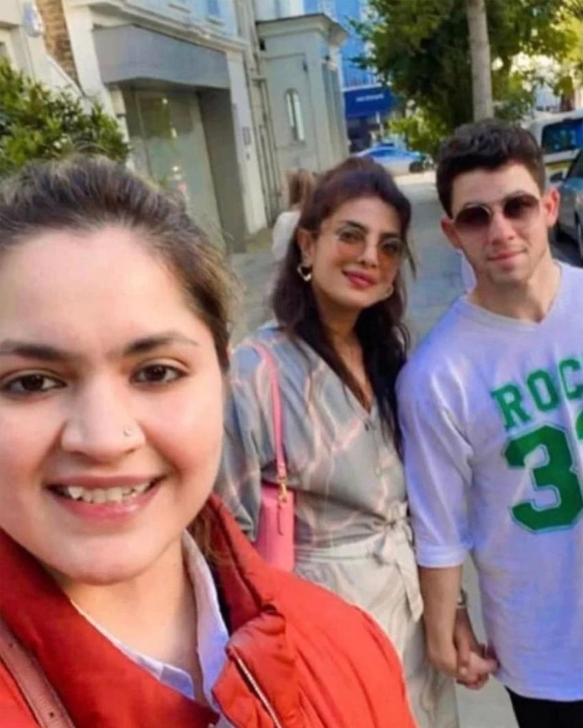 Priyanka Chopra And Nick Jonas Romantic Dates In UK Photos