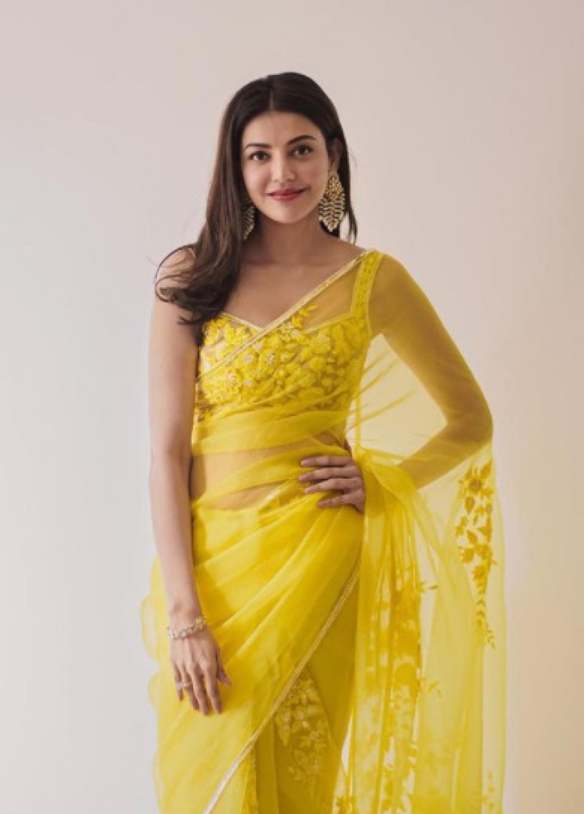 When Kajal Aggarwal Added Floral Touch To Her Outfits! Photos