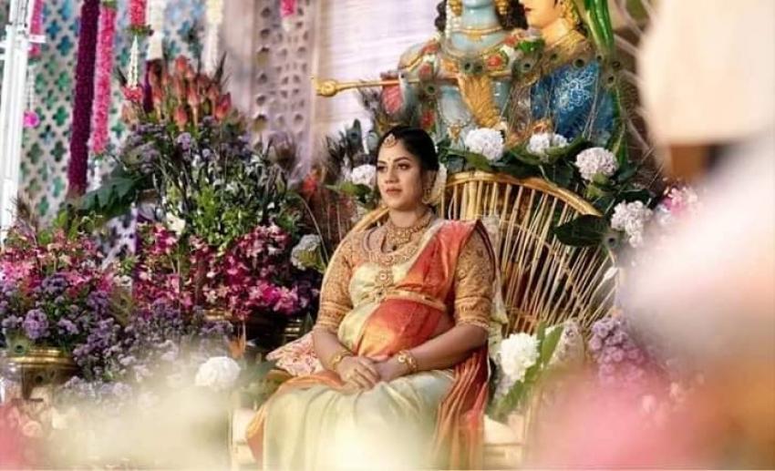 Baby Shower ceremony Revathi Nikhil  Gowda Photos
