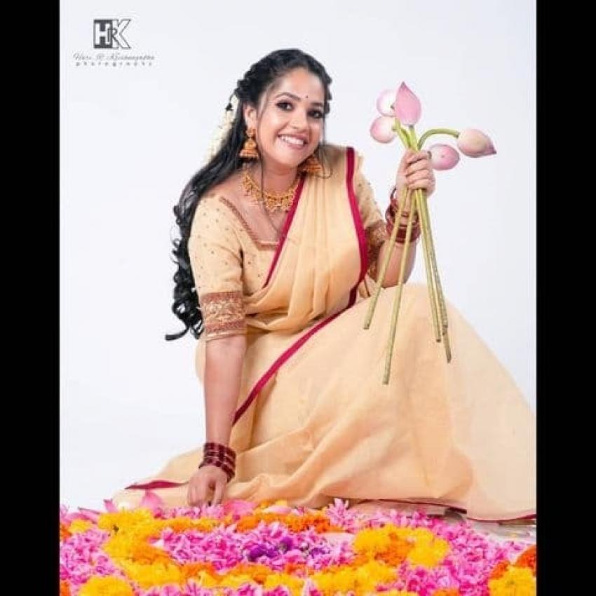 ദാവണിയിൽ അതീവ സുന്ദരിയായി അമൃത നായർ, പുതിയ ചിത്രം കാണൂ
