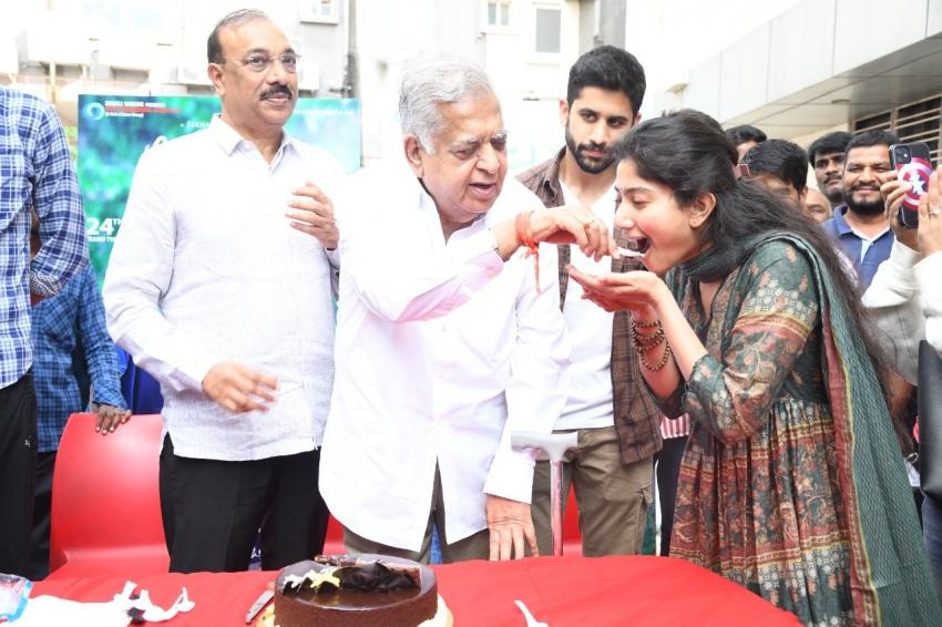 Love Story success Celebrations.. నాగచైతన్య, సాయిపల్లవి జోష్ మామూలుగా లేదుగా (ఫోటోలు)