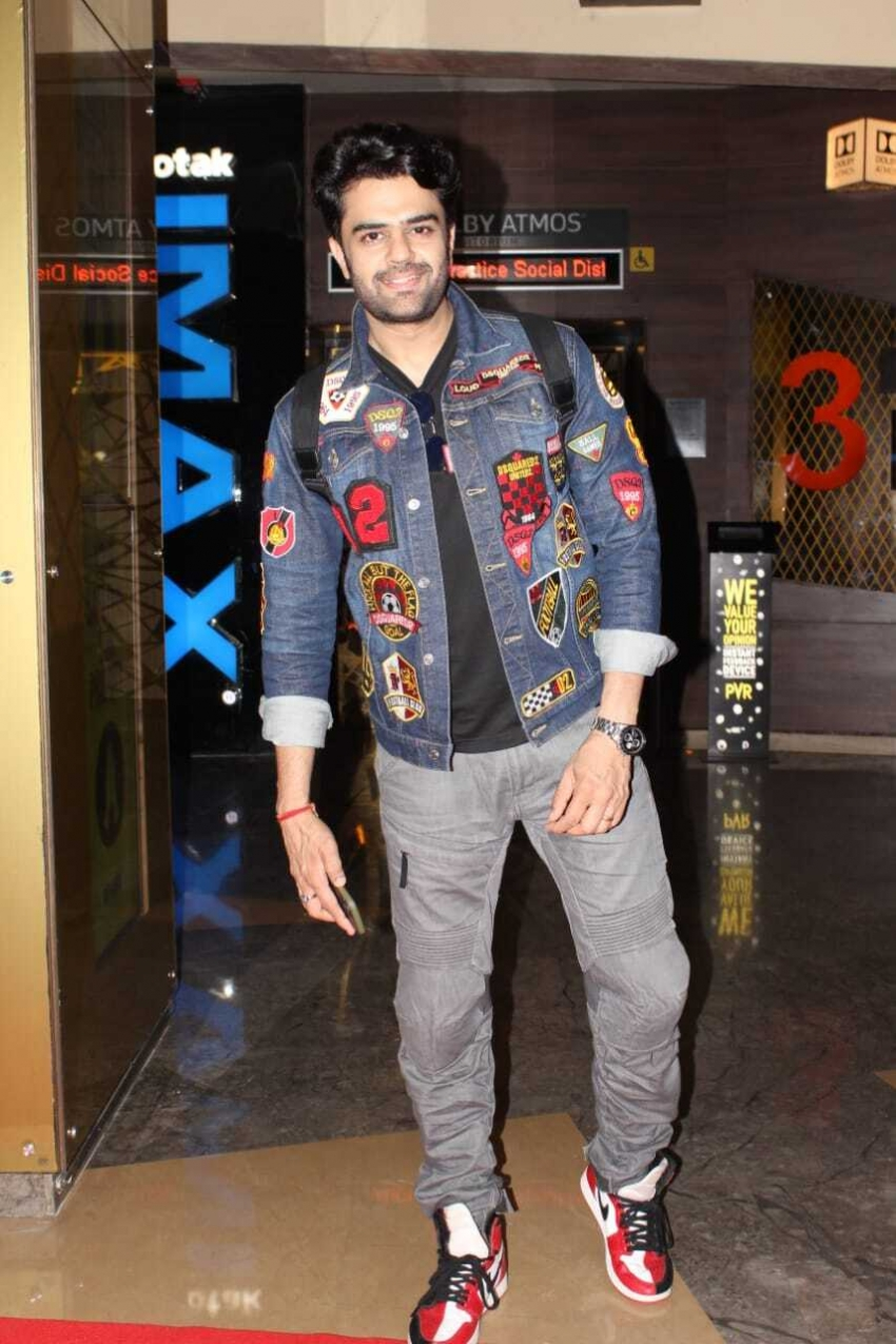 Manish Paul at opening ceremony of Great Indian Film Festival in New Delhi Photos