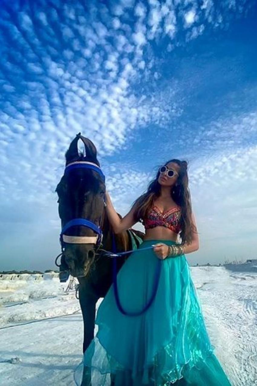 Raai Lakshmi : గుర్రమెక్కి రచ్చ రేపిన రత్తాలు.. ఎద అందాల విందుతో ఉక్కిరి బిక్కిరి