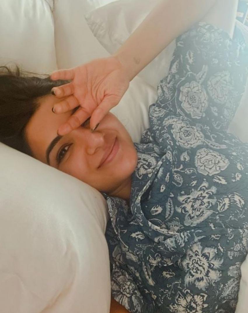 హాట్ హాట్ ఫొటోలతో షాకిచ్చిన సమంత: ఏకంగా ఆ భాగాలను చూపిస్తూ రెచ్చిపోయిన బ్యూటీ