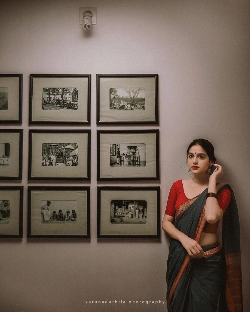 ഇനി സൂപ്പര് ശരണ്യയാകാന് അനശ്വര; സെറ്റില് നിന്നും താരം