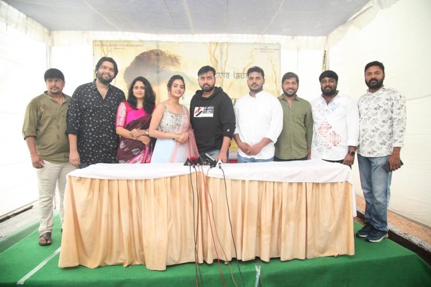 Tanishk Reddy Presents AV Creative Arts Movie Opening Photos