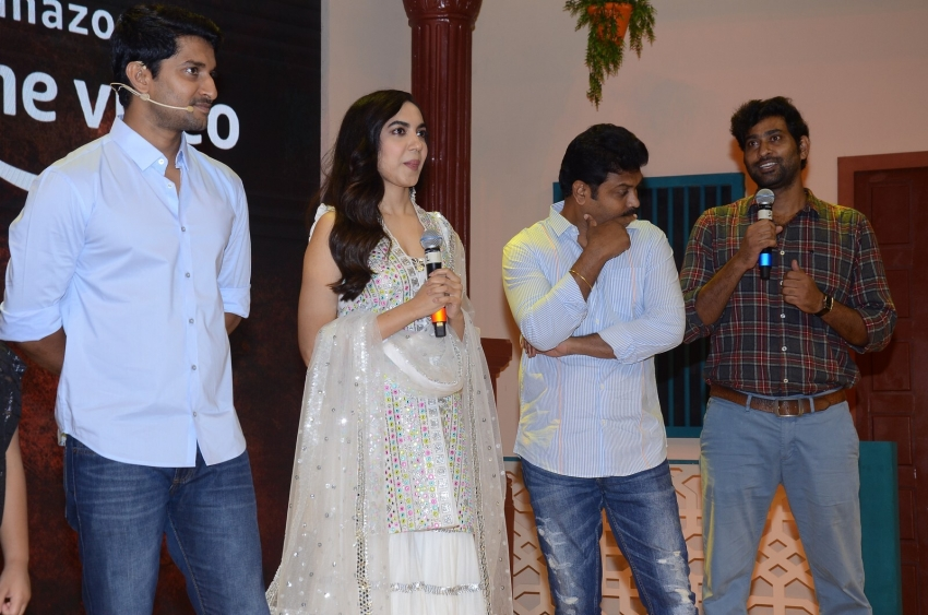 Tuck Jagadish Movie Trailer Launch Photos