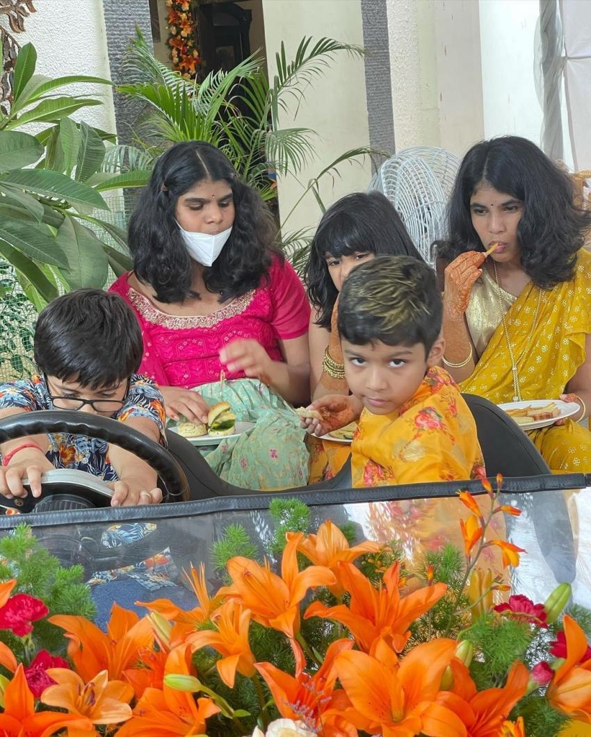 கல்யாண பொண்ணு வித்யூலேகா ராமனின் கலக்கல் ப்ரீ வெட்டிங் போட்டோஸ்!