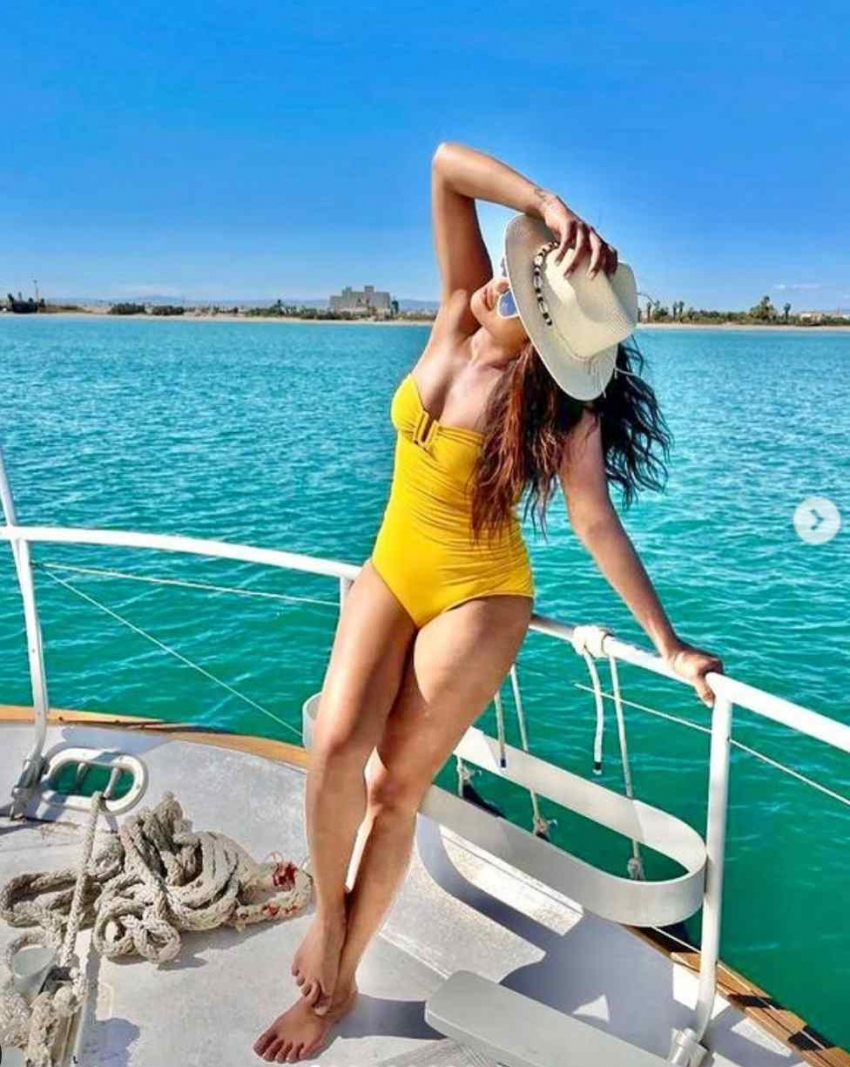प्रियंका चोपड़ा ने शेयर की बिकीनी में सेक्सी तस्वीरें