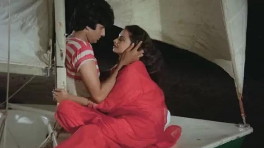 सिलसिला फिल्म से रेखा-जया-अमिताभ बच्चन की तस्वीरें