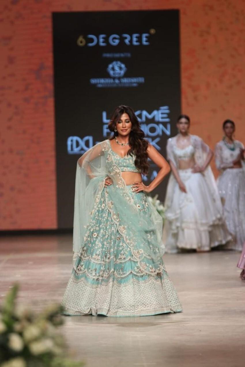 Chitrangada Singh walk the ramp at Lakme Fashion Week 2021 Photos