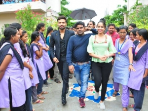 Brand Babu Movie College Promotions At Kakinada Institute Of Engineering