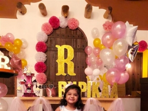 Mrs.Sridevi Vijaykumar and  Mr.Rahul's Daughter Baby Rupikaa 2nd Year Birthday Celebration