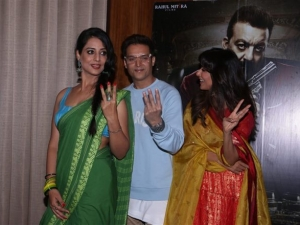 Saheb Biwi Gangster 3 Movie Promotion In Mumbai Photos