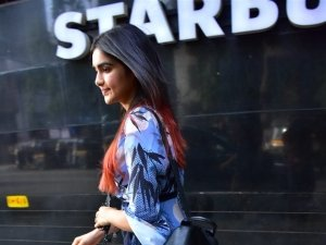 Adah Sharma Spotted At Star Bucks