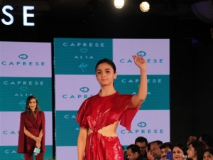 Alia Bhatt Walks The Ramp For Comprese