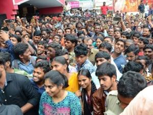 Srinivasa Kalyanam Team In Kukatpally Arjun Theater