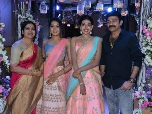 Hero Rajasekhar Sister's Son Engagement