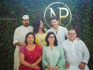 Priyanka Chopra And Nick Jonas Engagement Party