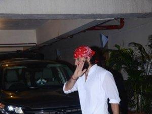 Saif Ali Khan Birthday Bash In Bandra