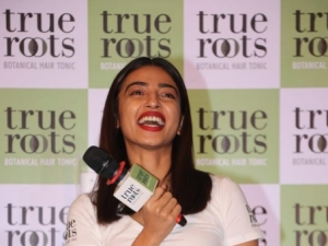 Radhika Apte Launch Botanical Hair Tonic