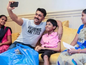 Suriya Sivakumar Family Adopts A Child