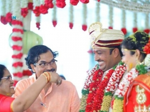 Telugu TV Anchor Chitralekha Marriage
