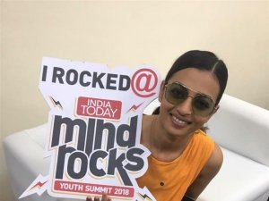 Radhika Apte Attends India Today Mind Rocks Youth Summit