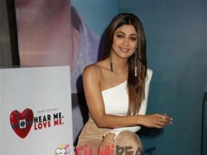 Shilpa Shetty at Launch of Amazon Prime Hear Me Love Me Show In New Delhi