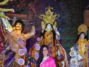 Bollywood Celebs At Durga Pooja 2018