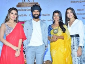 Vijay Devarakonda New Movie Opening