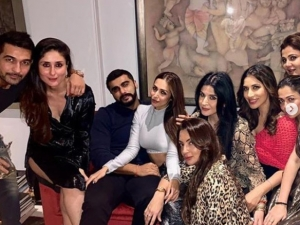 Arjun Kapoor and Malaika Arora party with Kareena Kapoor Khan