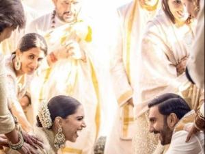 Deepika Padukone And Ranveer Singh Wedding Photos