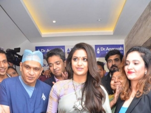 Keerthi Suresh Launches Agarwal Eye Hospital